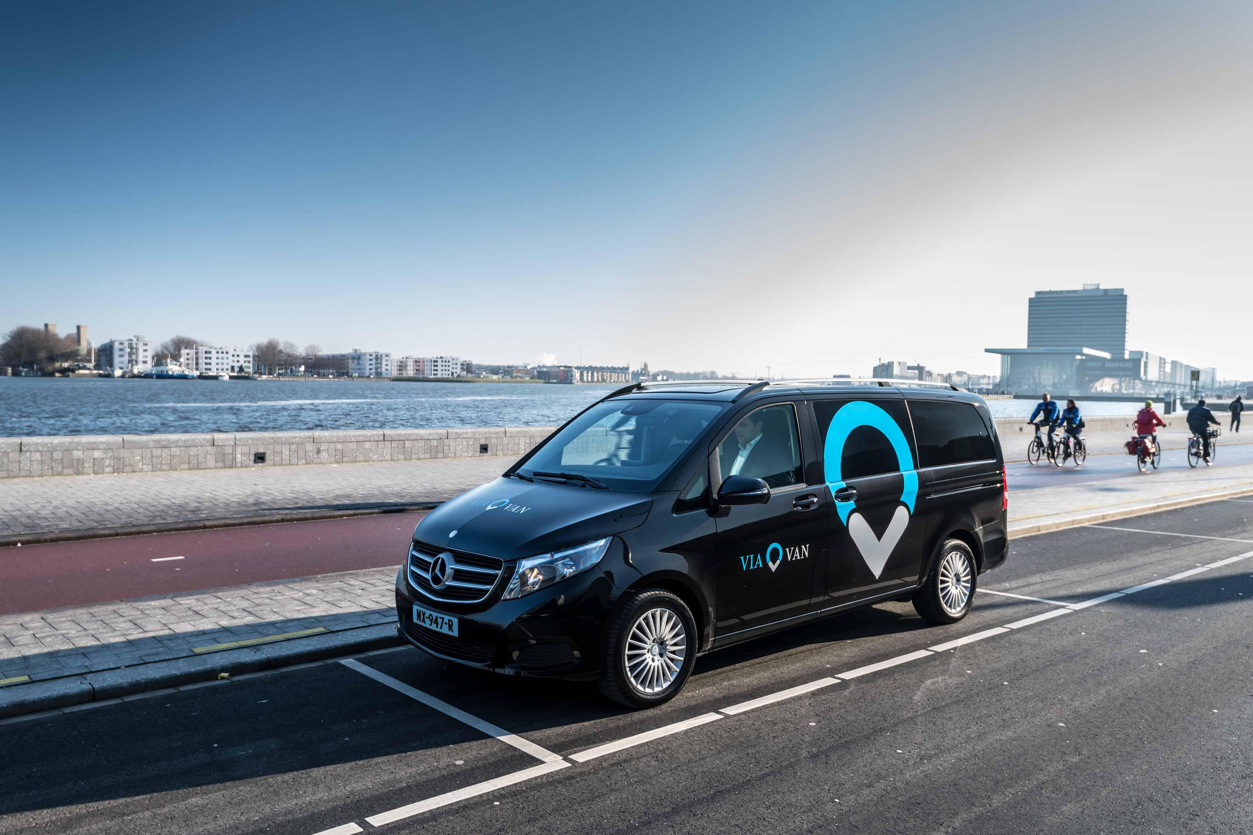 Nieuw: eVia – Een elektrische taxi bestellen