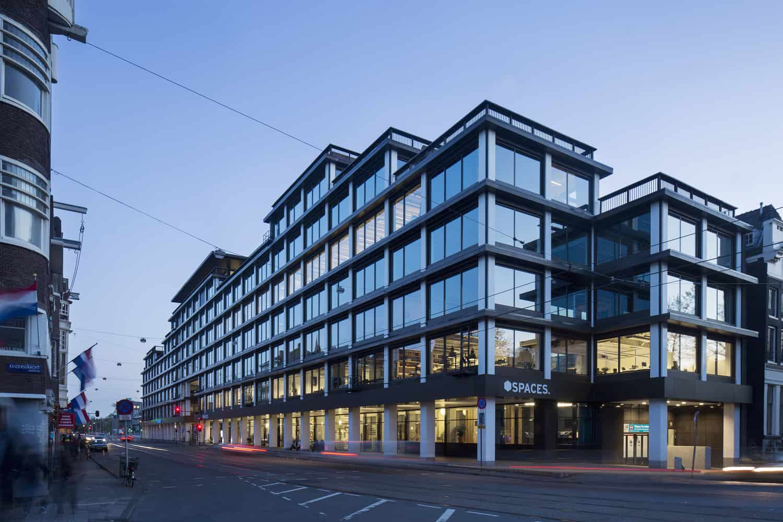 ViaVan kantoor in het bedrijfsverzamelgebouw van spaces aan de vijzelstraat in Amsterdam